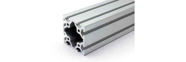 profilo in alluminio 80x80S I-tipo gola 8