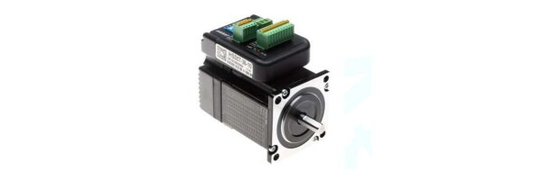 Integrated closed-loop stepper motors