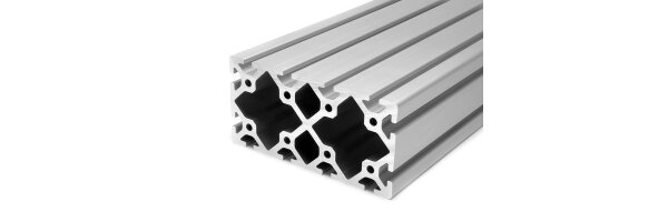 profilo in alluminio 80x160S I-tipo gola 8