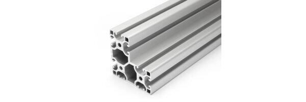 profilo in alluminio 40x80x80L I-tipo gola 8