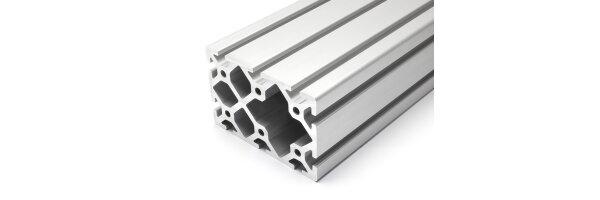 profilo in alluminio 80x120S I-tipo gola 8