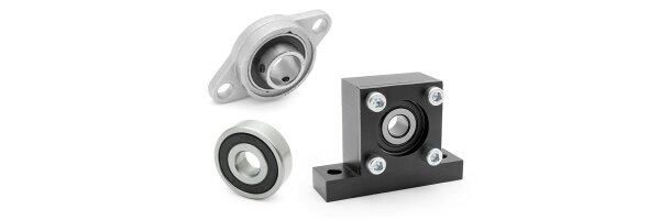 Ball bearings and bearing units