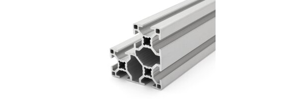Aluminiumprofil 30x60x60 B-Typ Nut 8