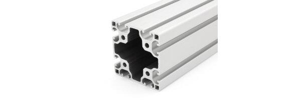 profilo in alluminio 80x80L I-tipo gola 8
