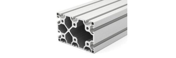 profilo in alluminio 80x120L I-tipo gola 8