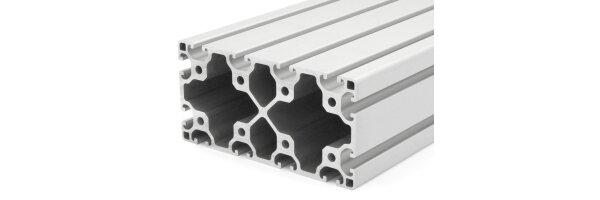 profilo in alluminio 80x160L I-tipo gola 8