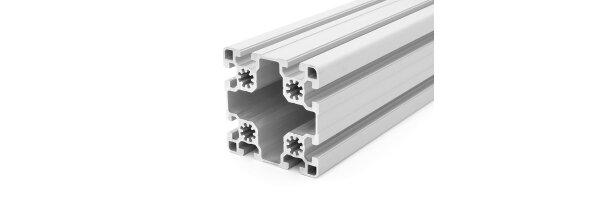 Aluminiumprofil 90x90L B-Typ Nut 10