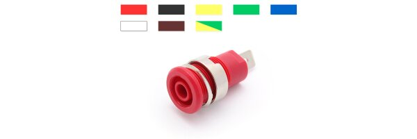 Safety mounting socket 4mm