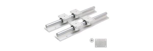 SET: TBR20UU cuscinetto lineare / supportati ferroviario TBS20 / Distanzblech