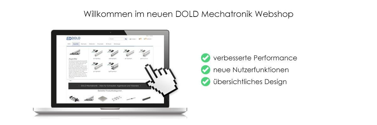 Willkommen im neuen DOLD Mechatronik Webshop - Neuer Webshop