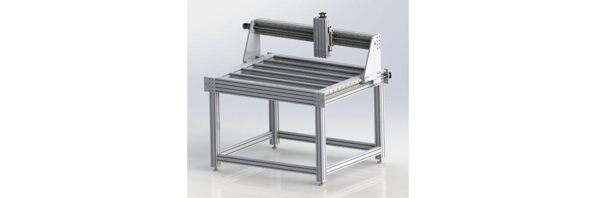 Baukastensystem für Portalfräsmaschinen: EMS1630CNC-Pro-V2 - Baukastensystem für Portalfräsmaschinen: EMS1630CNC-Pro-V2