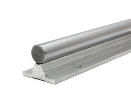 rail de guidage linéaire Supported SBS12 - 250mm de long