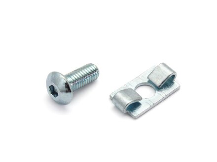 Standard connector 20 I-type groove 5 incl. Mounting kit
