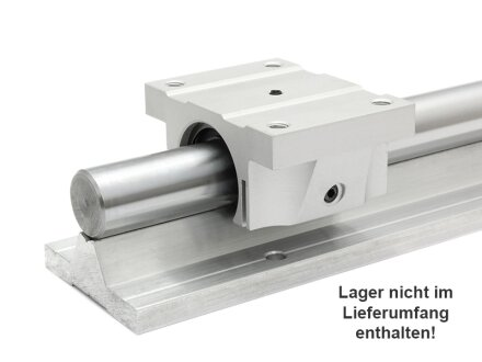 Linearführung, Supported Rail SBS30 - 400mm lang