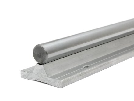 Guía lineal, carril apoyado TBS25 - 3500 mm de largo