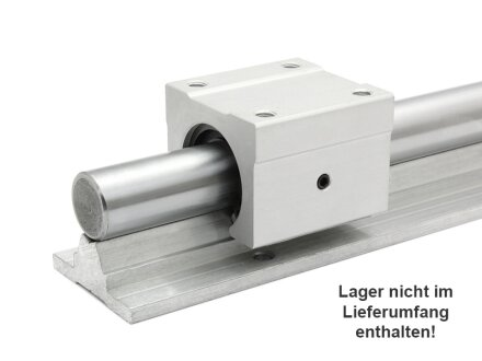 Linearführung, Supported Rail SBS12 - 400mm lang
