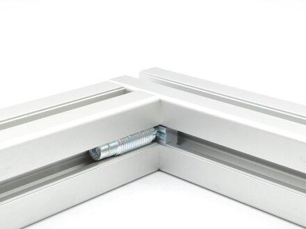 100x Schneidh/ülse Automatikverbinder Nut 10 Typ B Stahl verzinkt f/ür leichtes Profil