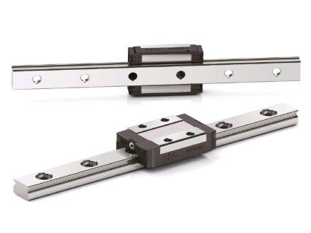 Edelstahl Linearführung MR 12 M Standardlängen 151 EUR//m