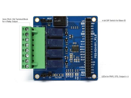 4-Port Relay Board / PES-2401