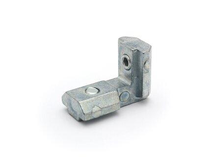 Angolo interno 90 ° zinco pressofuso 40 cava tipo I 8