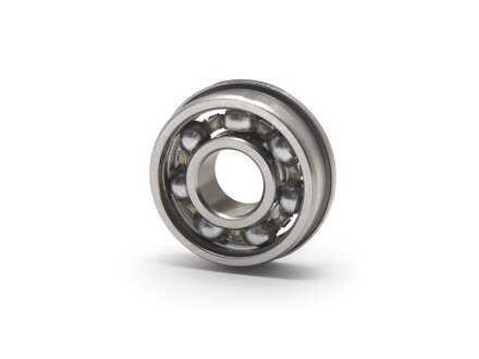 Miniature en acier inoxydable Flanschkugellager ouvert 2x5x2 mm SS-MF-52-W2