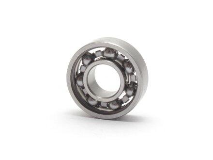 Rodamiento de bolas en miniatura de acero inoxidable SS-MR148-W3.5 abierto 8x14x3.5 mm