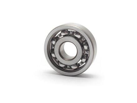 Rodamientos de bolas en miniatura de acero inoxidable pulgadas SS-R2 abiertos 3.175x9.525x3.967 mm