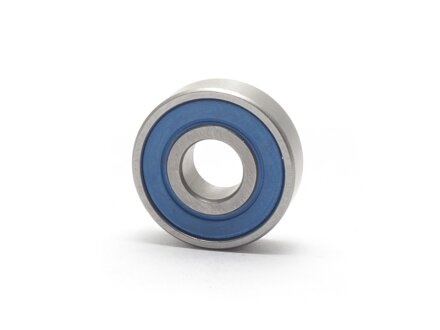 Stainless steel deep groove ball bearings 6200-2RS 10x30x9 mm SS